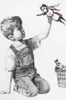 Une oeuvre de Banksy aux enchères pour la bonne cause