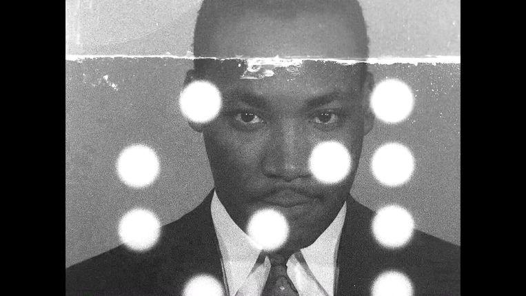 Still uit 'Martin Luther King vs. The FBI'. Beeld K2 / Filmstill
