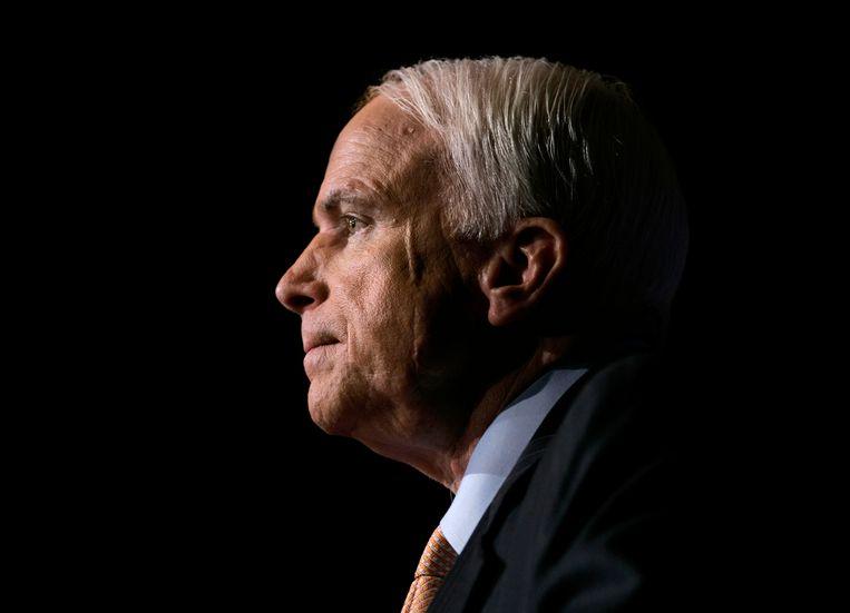 John McCain in Washington, 16 november 2006. Beeld AP