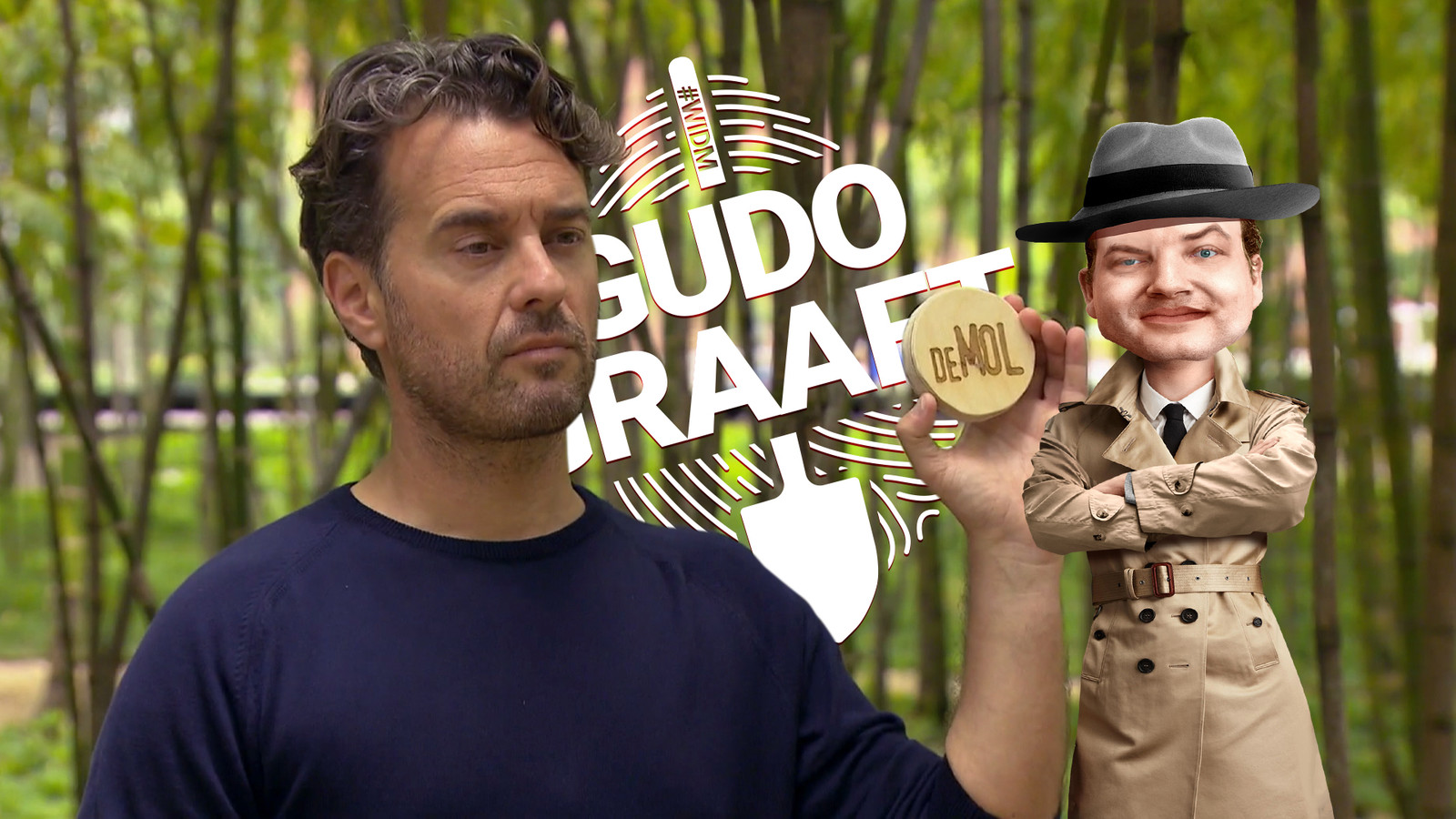 Gudo concentreert zich in zijn wekelijkse video toch vooral op de identiteit van de Mol.