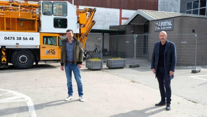 """Putte bouwt nieuwe en tweede sporthal aan Klein Boom: """"Zo krijgen onze clubs extra plek in eigen gemeente"""""""