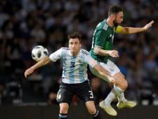 Argentinië wint met aanvoerder Tagliafico van Mexico