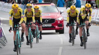 KOERS KORT. Jumbo-Visma geeft eindwinst in Hammer Series niet meer af - Coquard sprint naar de zege in GP Marcel Kint