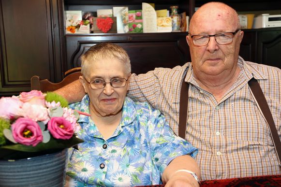 Louis en Liza zijn 50 jaar getrouwd.