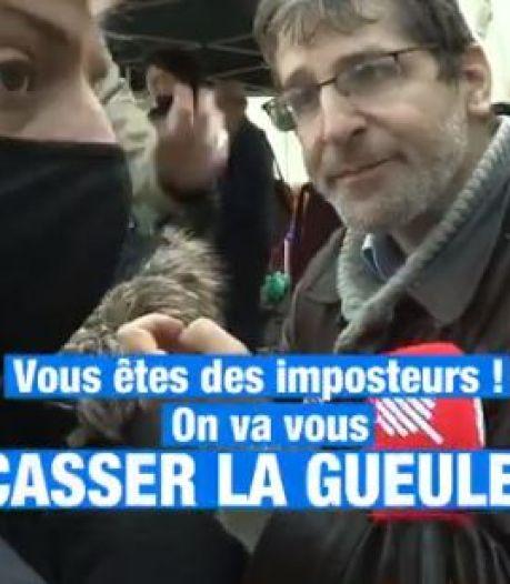 """""""On va vous casser la gueule"""": les journalistes de """"Quotidien"""" pris à partie lors d'une manifestation anti-vaccin"""