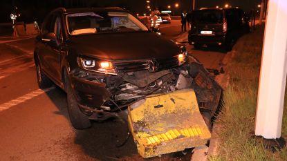 Brandweerman gewond bij ongeval met dronken chauffeur