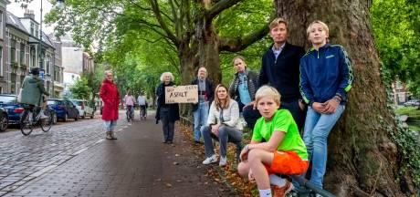 Bewoners Weerdsingel: 'Fietssnelweg maakt van onze straat een gevaarlijke racebaan'