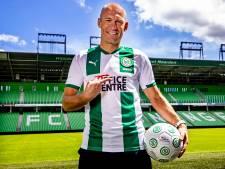 De mooiste foto's van de presentatie van Arjen Robben bij FC Groningen
