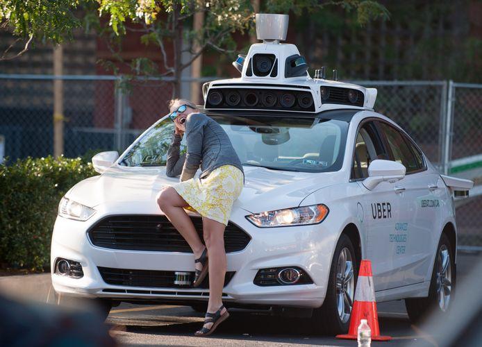 Uber test sinds enkele jaren de technologie van zelfrijdende auto's in de Amerikaanse stad Pittsburgh