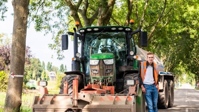 Dylano (17) geniet van zijn baan: 'Sinds dat ik kon praten wist ik al dat ik trekkerchauffeur wilde worden'