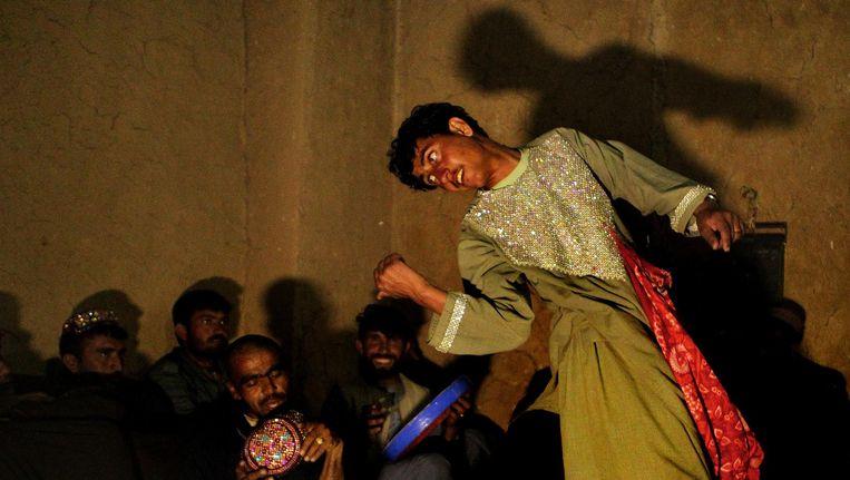 Dansende jongen in Bagdad Beeld Fairfax Media via Getty Images