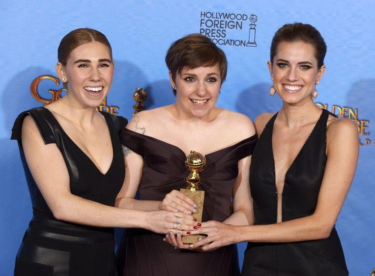 De serie kreeg in 2013 de Golden Globe-award voor beste tv-serie in de categorie 'Comedy or Musical'. Beeld epa