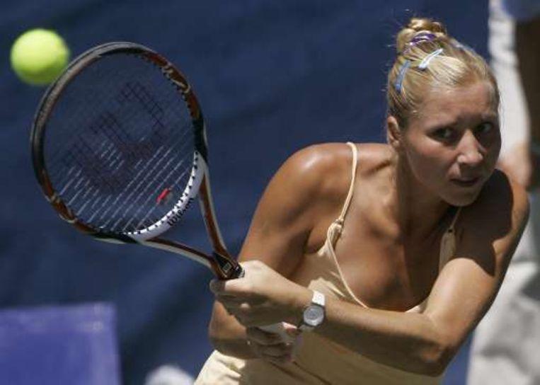 Alona Bondarenko verloor van Maria Sharapova. Beeld UNKNOWN