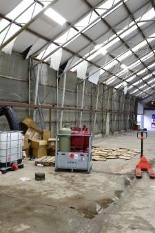 Kijkje in het opgerolde drugslab in Nieuwendijk: 'Evacuatie van de buren was volkomen terecht'
