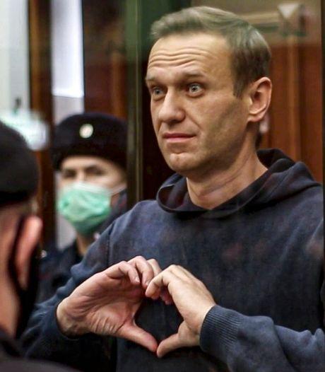 "L'opposant russe Alexeï Navalny ""honoré"" d'avoir reçu le prix Sakharov"