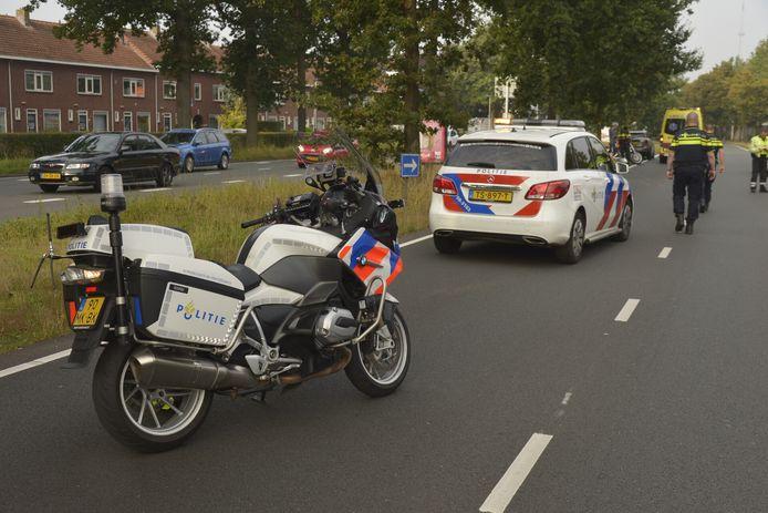 Het ongeluk gebeurde op de Crogtdijk in Breda.