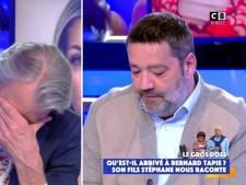 Stéphane Tapie raconte l'agression de son père, Gilles Verdez fond en larmes
