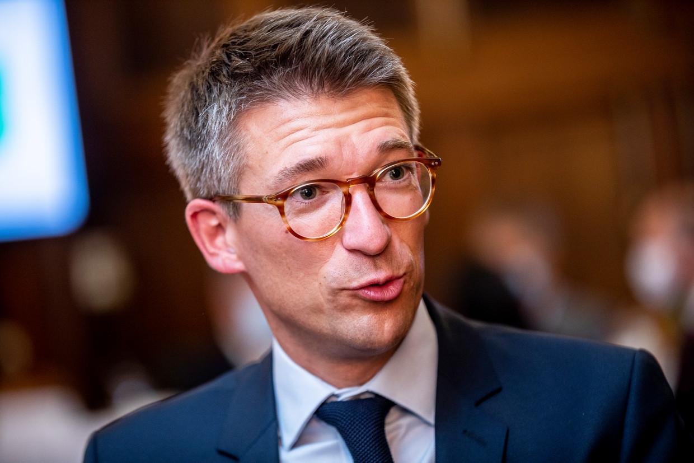Minister van Werk Pierre-Yves Dermagne. Beeld BELGA