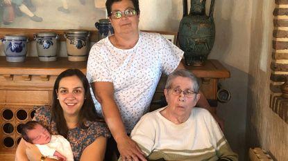Nyssa zorgt voor vrouwelijk viergeslacht in familie