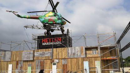 Vroegere helikopter van Fidel Castro wordt draaitafel van Baobab Beach Club