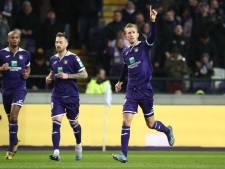 Vlap en Kompany scoren bij ruime zege Anderlecht