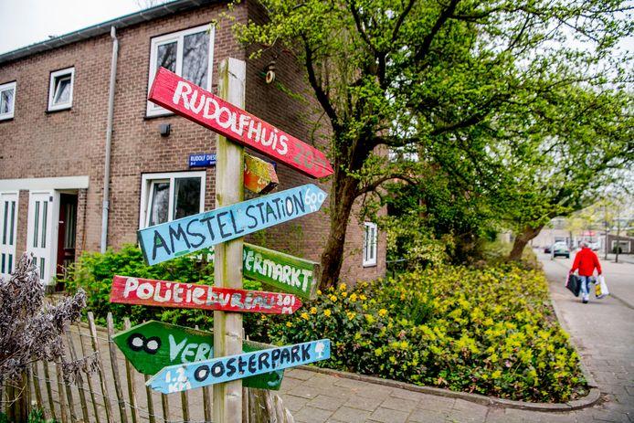 De Rudolf Dieselstraat in Amsterdam.