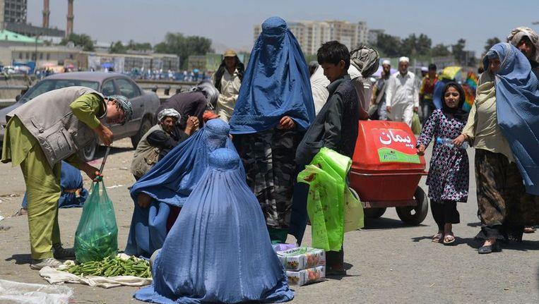 Volgens activisten is de situatie voor vrouwen in Afghanistan het laatste jaar enorm verslechterd. Beeld AFP