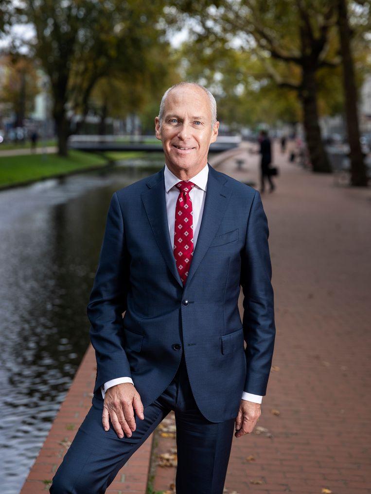 """Guus van Weelden van het UWV maakt excuses voor wat misging bij de herbeoordeling van arbeidsongeschikten. """"We hebben te lang te weinig morele beslissingen genomen"""" Beeld UWV"""