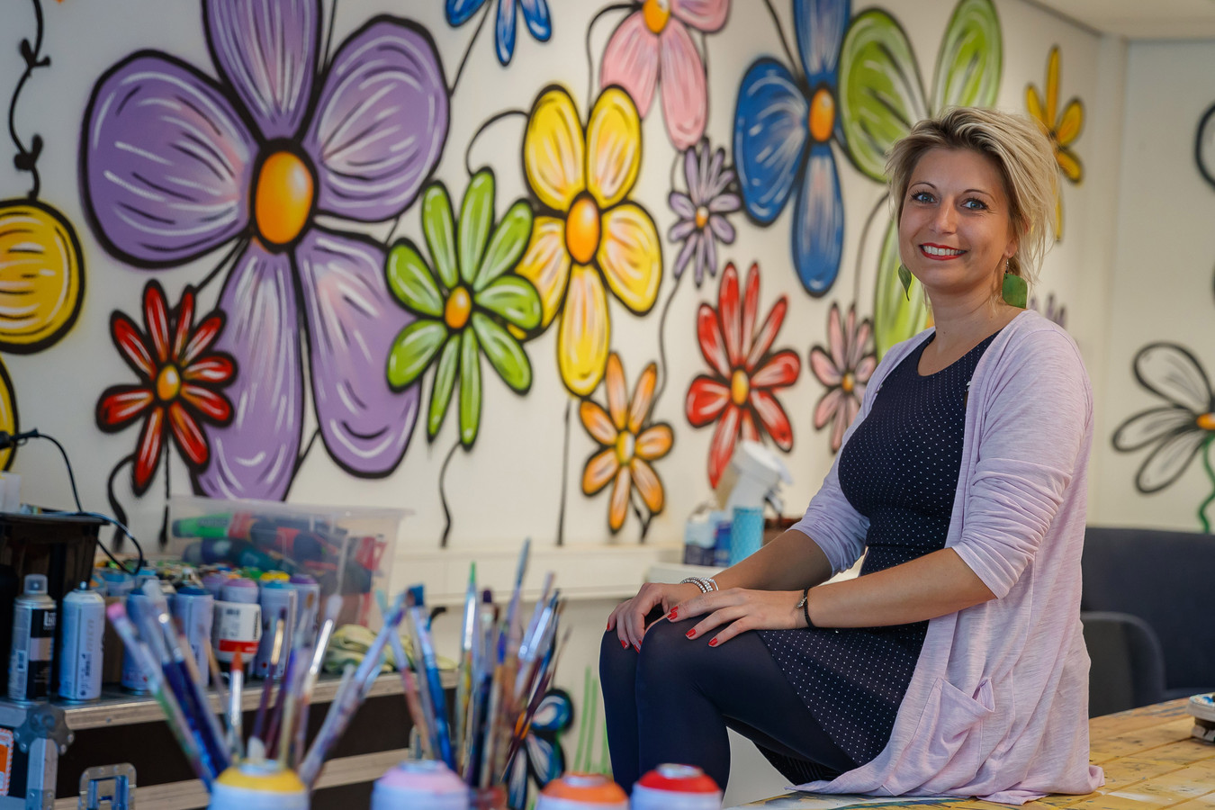 Myrthe van der Gaag exposeert voor het eerst bij KunstenOnder1Dak in de Sint Jan.