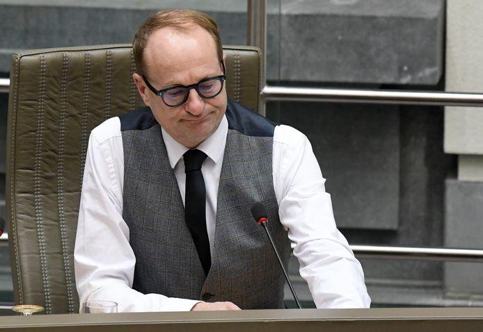 Ben Weyts (N-VA), Vlaams minister van Onderwijs.