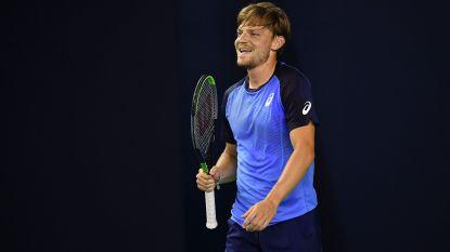 David Goffin boekt een vierde zege in de Ultimate Tennis Showdown