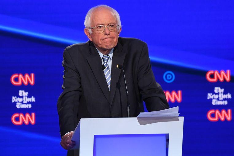 Senator Bernie Sanders. Beeld AFP