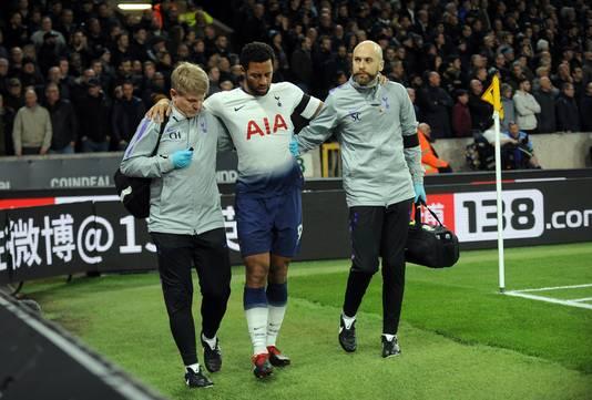 La blessure de Moussa Dembélé est venue s'ajouter à celles de De Bruyne, Fellaini, Benteke, Vertonghen et Vermaelen.