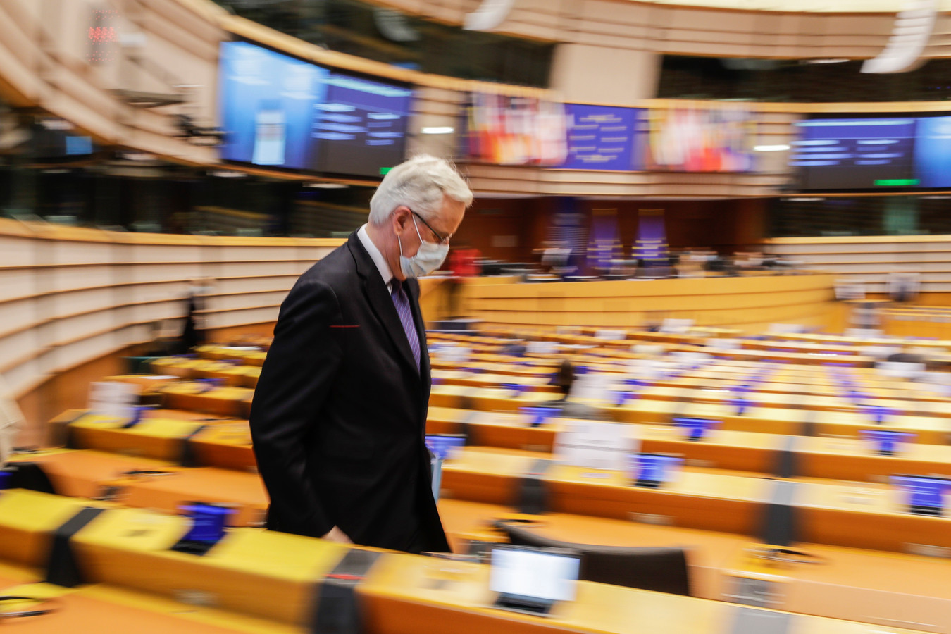 Europees president Michel Barnier.
