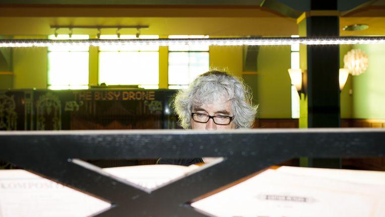 Hans Fidom in het Orgelpark in Amsterdam: 'Ga luisteren naar een orgel, neem de tijd en als je dat doet, krijg je een exquise diner.' Beeld Renate Beense