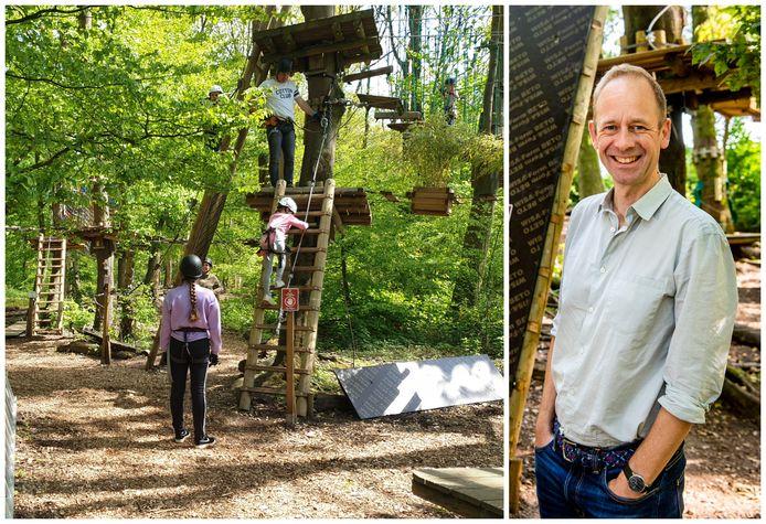 David Balhuizen zag zijn Fun Forest in het Kralingse Bos zondag door de gemeente worden gesloten: ,,Dit is zo krom.''