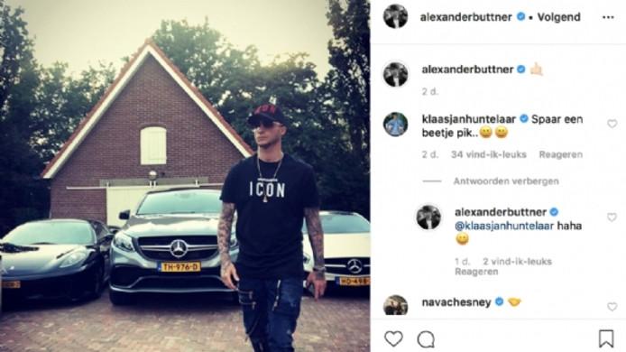 Alexander Büttner op Instagram