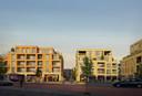 Projectontwikkelaars Kolmont en Vanhout Projects werken duurzame woningen uit op de Kwintsite.