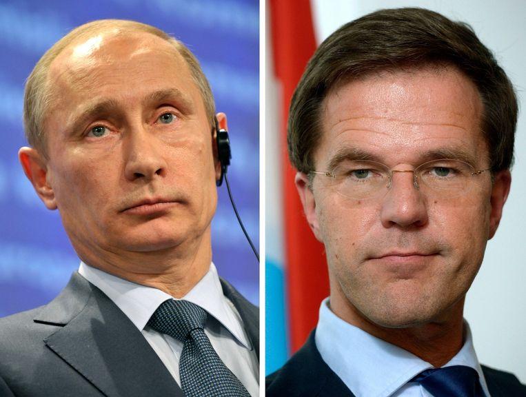 Vladimir Poetin en Mark Rutten hebben elkaar gesproken over de ramp.