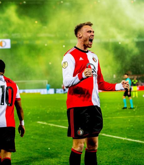 Feyenoord sterk tegen PSV, maar spits Jørgensen snakt naar doelpunten