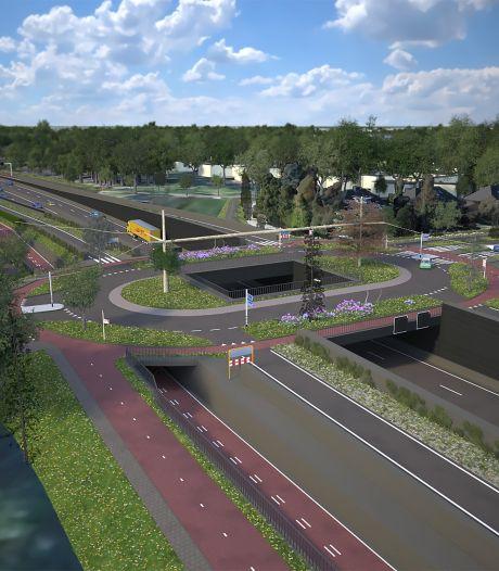Eenvoudige N65-tunnel kost geen 412 maar 152 miljoen euro: 'Duurzame oplossing is bewust om zeep geholpen'