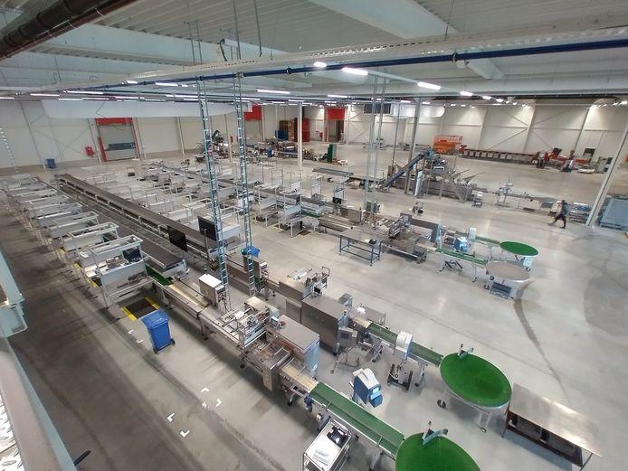 Den Berk Délice bouwde op de industriezone De Kluis in Hoogstraten een gloednieuw sorteercentrum en kantoorgebouw. Het nam recent ook nog een tomatenbedrijf over in Merksplas.