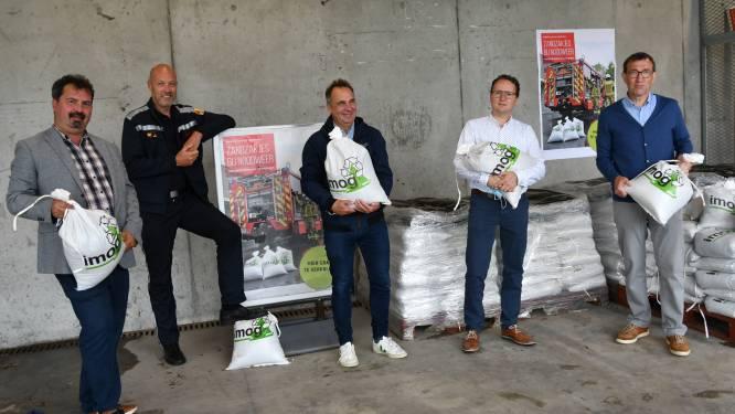 Gratis zandzakjes op recyclageparken in strijd tegen wateroverlast