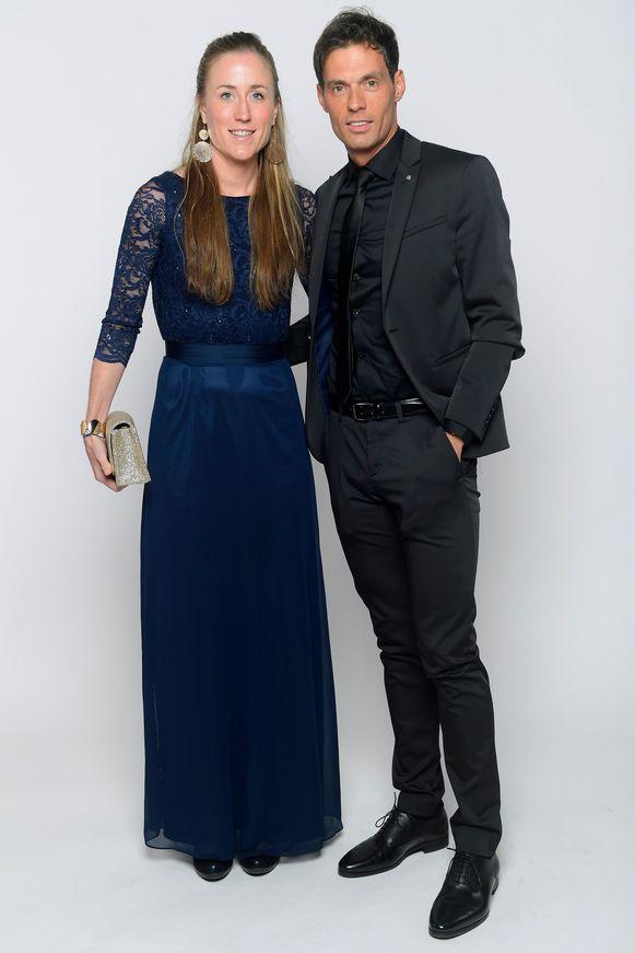Sven Vanthourenhout en partner Lindsey De Grande