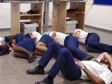 Ryanair: foto van slapende crew in Malaga is nep