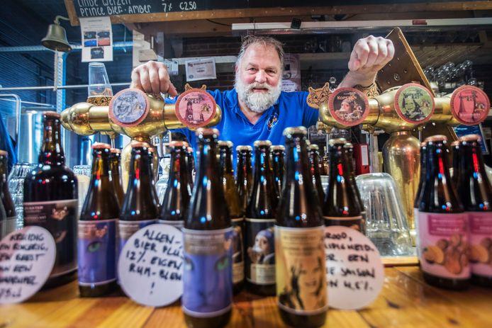 Rolf Katte, eigenaar van bierbrouwerij De Koperen Kat in Delft.