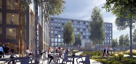 Ontwerp 5Tracks - mét hotel en skybar - in Breda nagenoeg afgerond