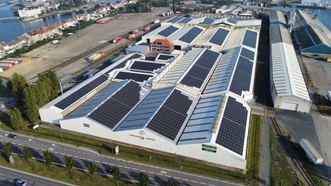 Grootse zonne-installatie van Oostende ligt op daken van Lemahieu