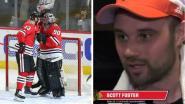 Van de tribune geplukte boekhouder (36) beleeft spectaculair NHL-debuut