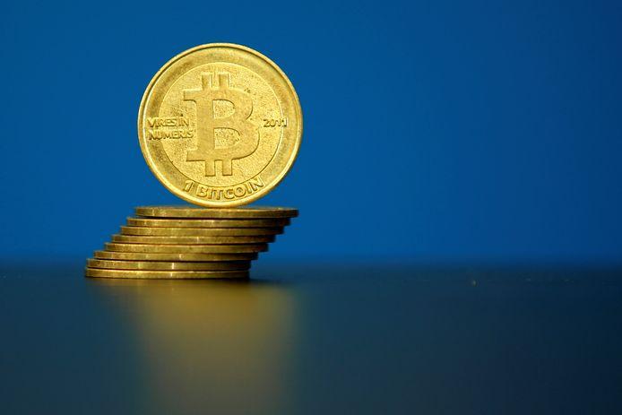 'Virtueel' geld van bitcoin, ter illustratie.